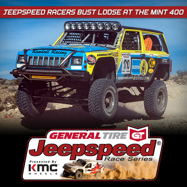 Jeepspeed Racers Bust Loose At The Mint 400