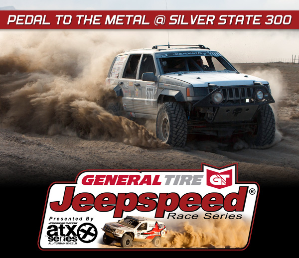 Jeepspeed Challenge, General Tire, ATX Wheels, BITD Silver State 300, Rubicon Express