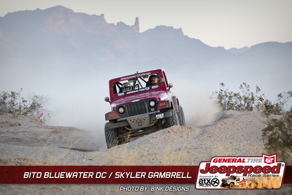 Skyler Gambrell, Jeepspeed, General Tire, ATX Wheels
