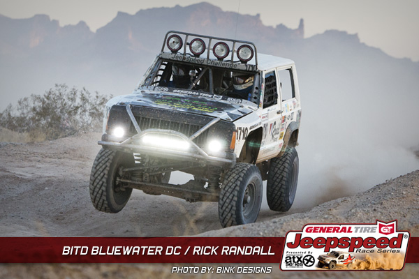 Rick Randell, Jeepspeed, BITD, Rubicon Express, General Tire, ATX Wheels, Bink Designs