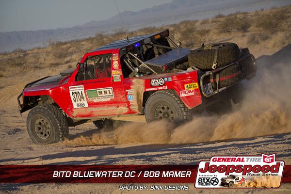Jeepspeed, Bob Mamer, General Tire, ATX Wheels, King Shocks