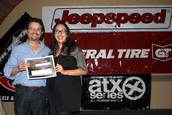 General Tire, Tony Talbert, General Tire Winner, Jeepspeed