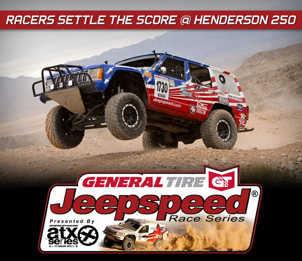 Jeepspeed Challenge, Megan Mcleod, General Tire, ATX Wheels, Henderson 250, Best In The Desert