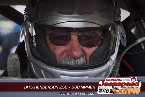 Bob Mamer Ready for BITD Henderson 250