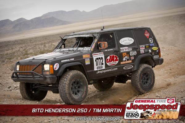 Tim Martin, Jeepspeed Racing, General Tire, RDM Offroad, G2 Axle & Gear