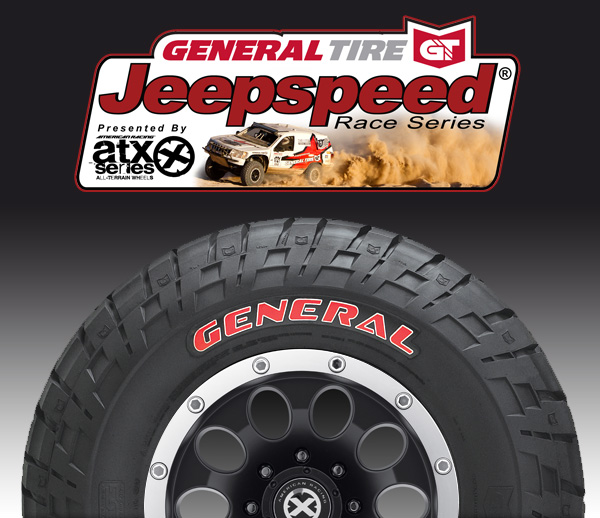 General Tire Signs 3 Year Deal with Jeepspeed