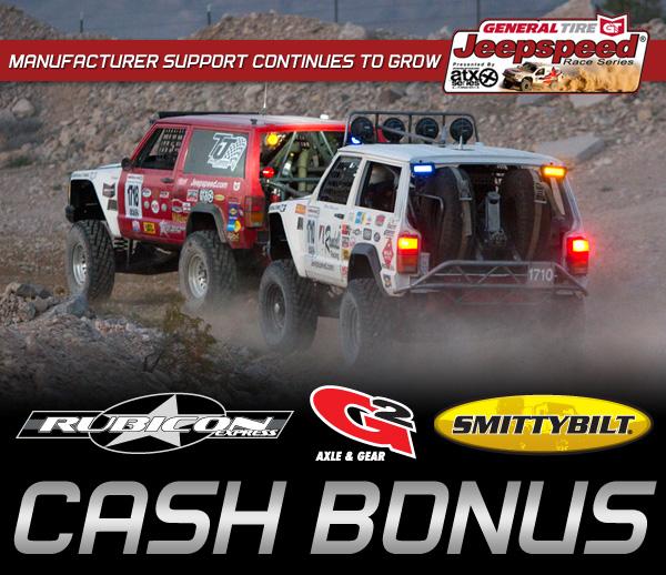 Jeepspeed Challenge, General Tire, ATX Wheels, Rubicon Express, G2 Axle & Gear, Smittybilt
