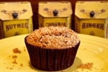 Coconut Chocolate Chip Muffin