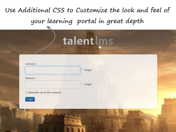 A talentlms domain with a background image_TalentLMS