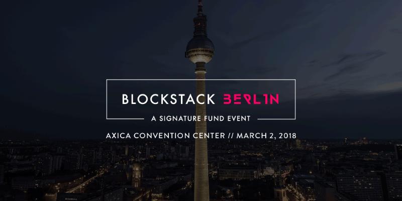 Blockstack Berlin