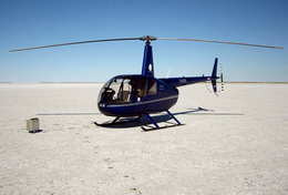 Robinson R44 - flying on rubber bands