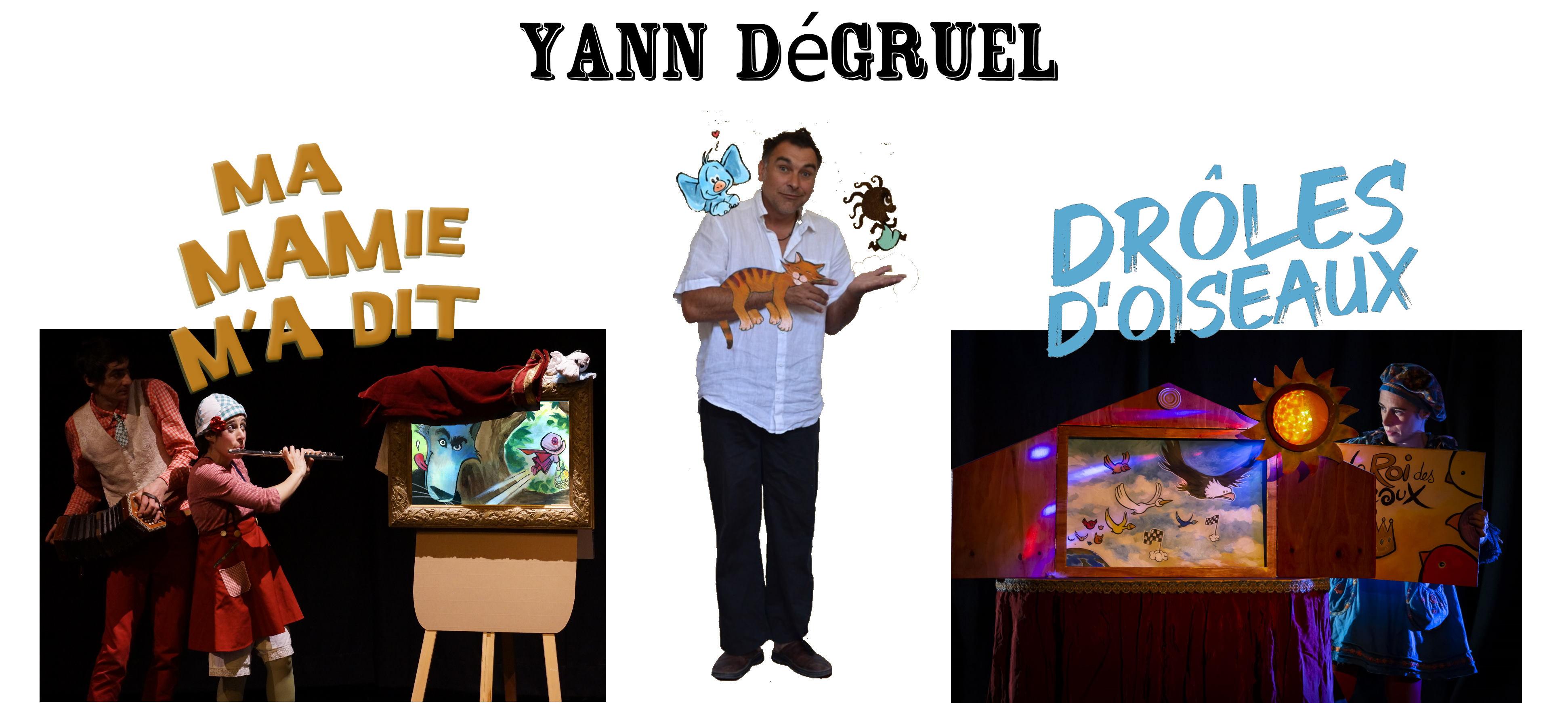 Spectacle et animation BD avec Yann Débruel