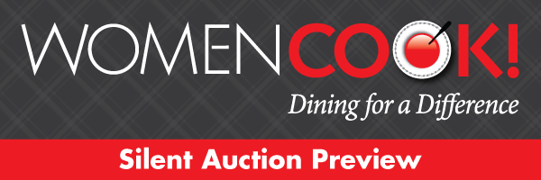 WomenCook! Silent Auction Preview