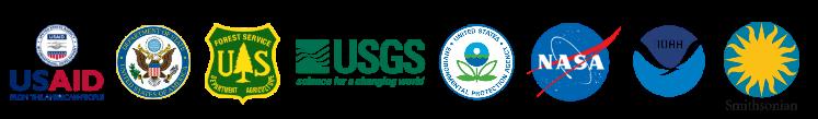 USAID, US Dept. of State, USFS, USGS, EPA, NASA, NOAA, Smithsonian