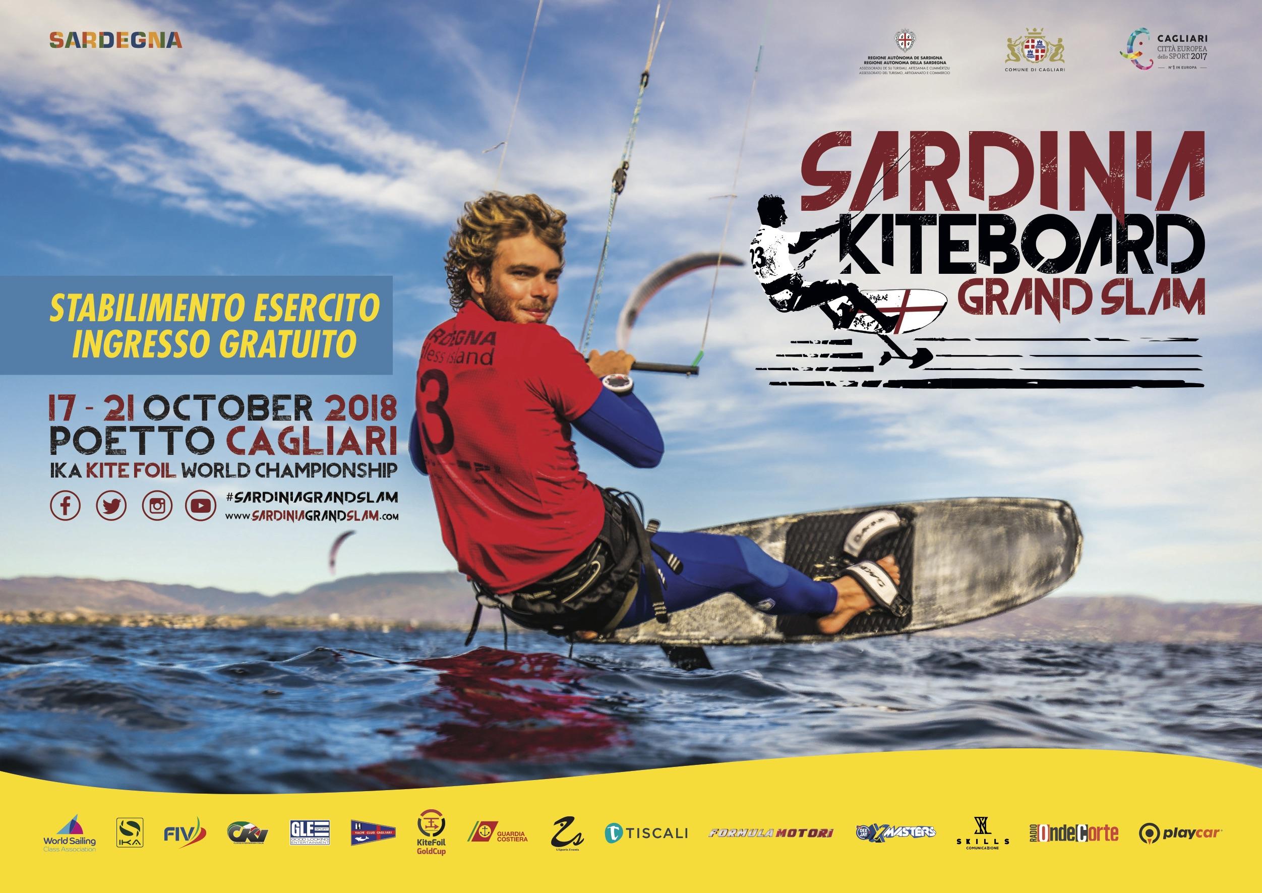 1453d57f fa3b 40a8 a1f3 3c9a89f31c7c Sardinia Grand Slam: a Cagliari i titoli mondiali di KiteFoil