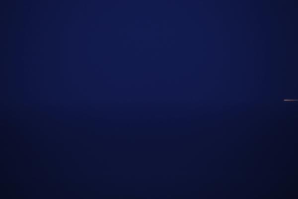 NEW HORIZON #3722, 06.06.2012 - 04h00 / Bruno van den Elshout, 2012 / Satijnprint op alu-dibond, 133x200cm