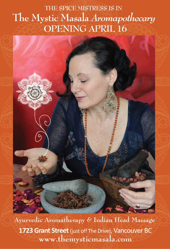 The Mystic Masala Aromapothecary - Opening April 16!