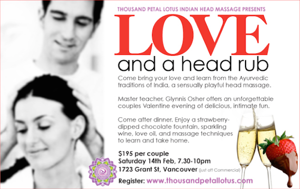 Love and a Head Rub - Valentines Couple's IHM Evening