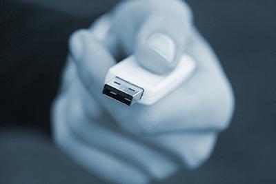 Stolen USB