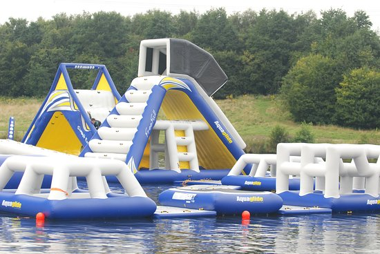 Rother Valley Aqua Park inflatables