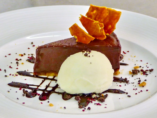 Delicous Desserts at Kinloch House