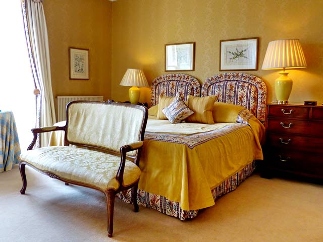 Luxury Bedrooms at Kinloch House