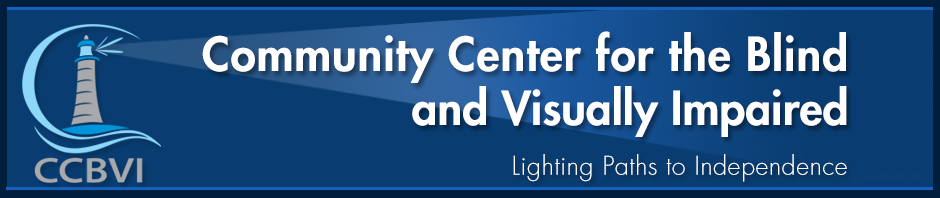 Community Center for the Blind and Visually Impaired logo