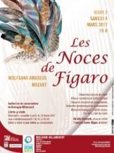 Affiche Les Noces de Figaro