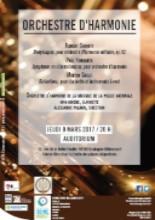 Affiche Orchestre d'harmonie