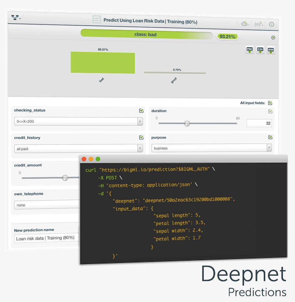 Deepnet Predictions
