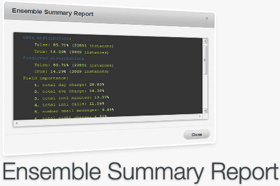 Ensemble Summary Report