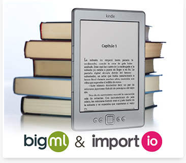 Using BigML & Import.io to predict Kindle reviews