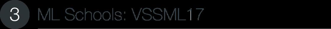 ML Schools: VSSML17