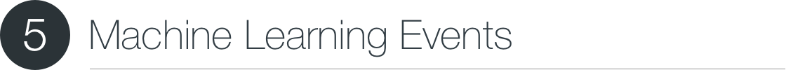 Machine Learning Events