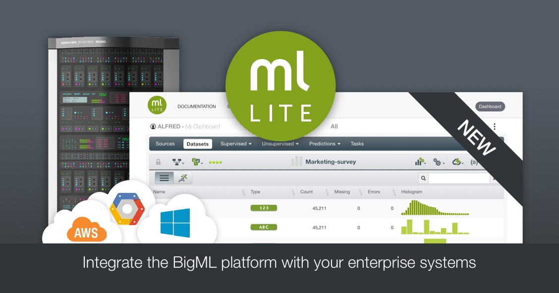 BigML Lite for enterprise systems