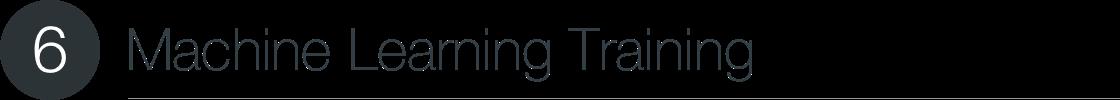 Machine Learning Training