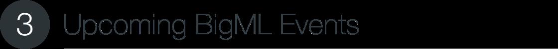 BigML Events