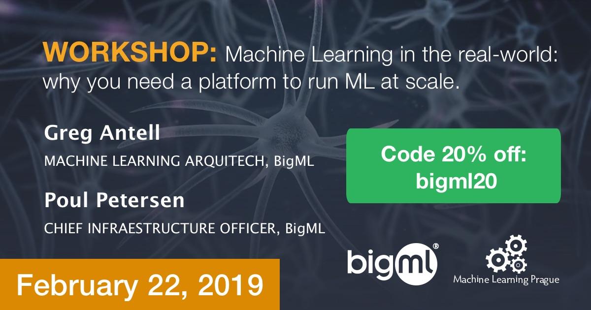 BigML in Machine Learning Prague 2019