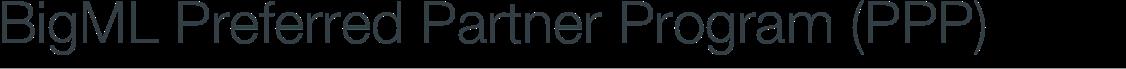BigML Preferred Partner Program