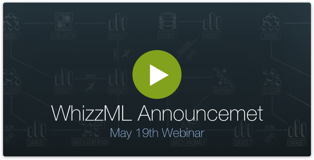 WhizzML Announcement Webinar (May 19th)
