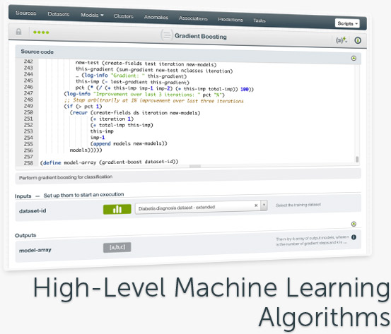 High-Level Machine Learning Algorithms