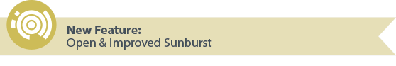 New Feature: Open & Improved Sunburst