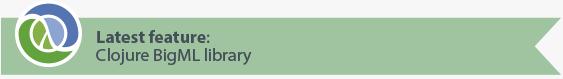 Latest feature: Clojure bindings