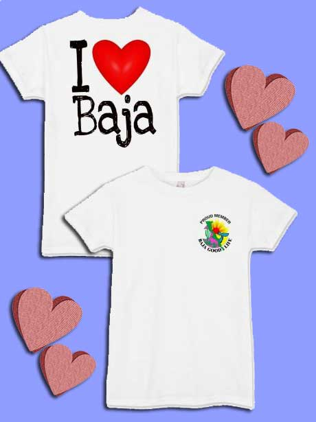 I Love Baja T-shirt