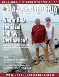 Baja California Magazine - www.bajagoodlifeclub.com