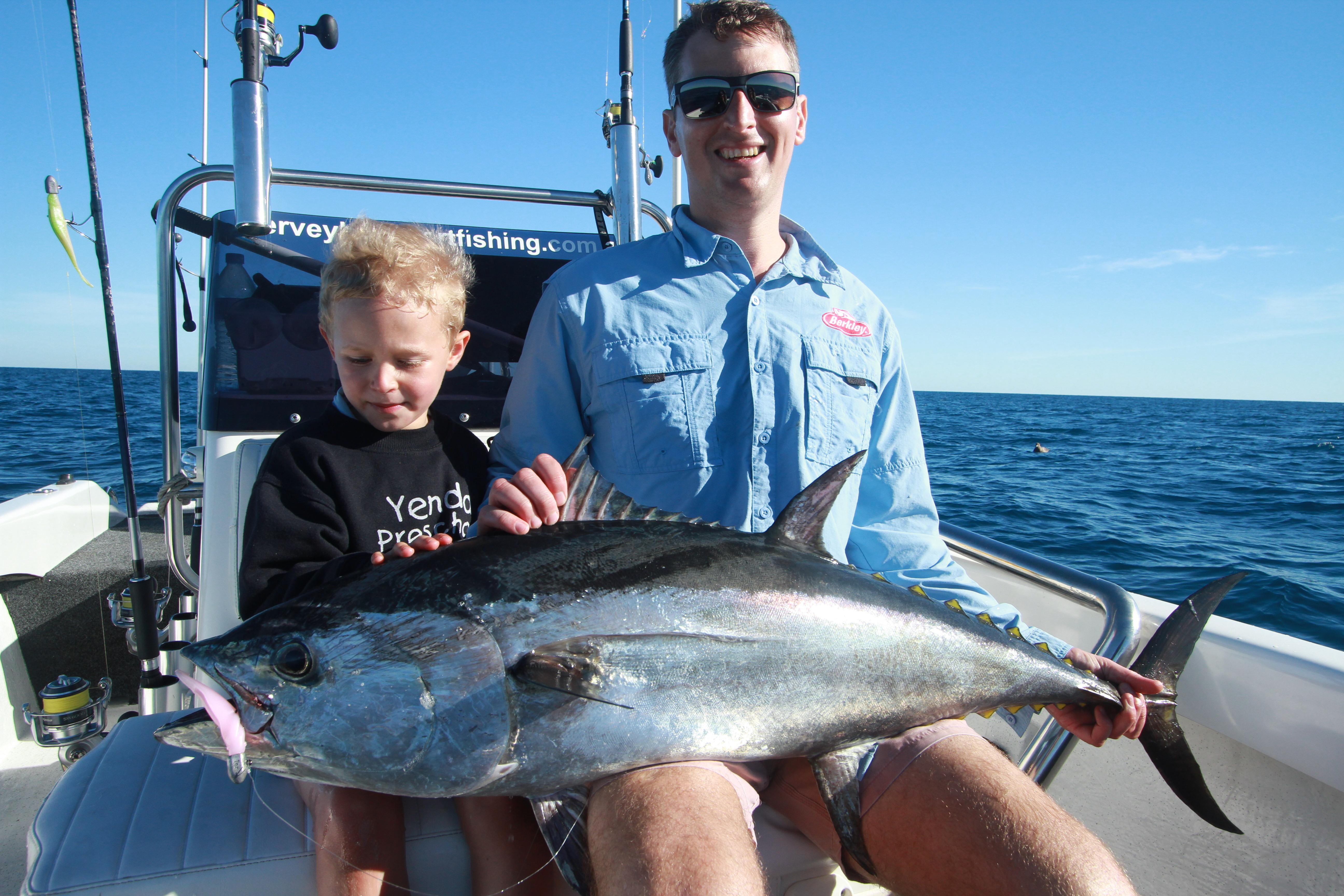Big longtail tuna a great sport fish
