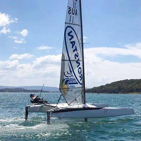 Sailing Regatta A Class National and World Championships in Hervey Bay