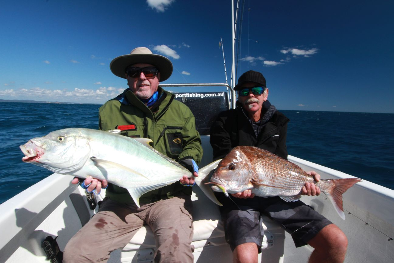 A Hervey Bay classic northern and southern species side by side