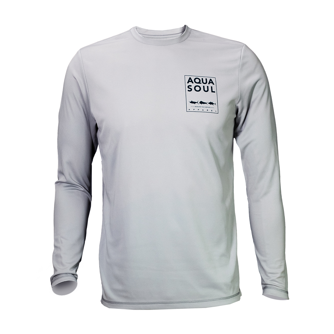 Check out AQUASOUL Apparel for all your fishing needs