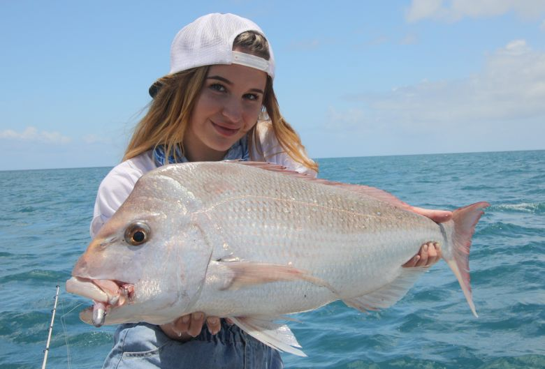 Not long now until the snapper arrive get in early